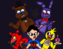DD#4: Markiplier and Five Nights at Freddy's by t00ngaming