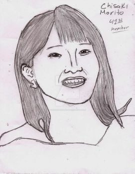 Morning Musume First Appearance Chisaki Morito by UnicronHound