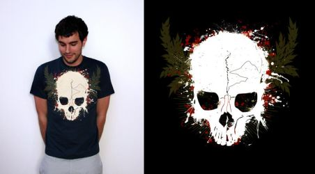 Skull Tee by utilizzo