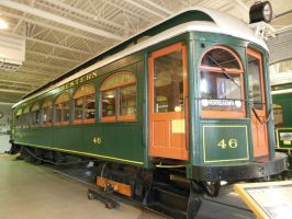 Philadelphia and Western RR Electric Car No. 46 by rlkitterman