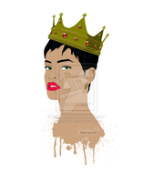 Queen Rihanna by gisellam