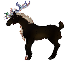 Duke Rook | Stag | Lesser Royal by PrinceJackdaw