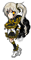 .:Adopted:. Single Adoptable// Starry Night by Devil1lin
