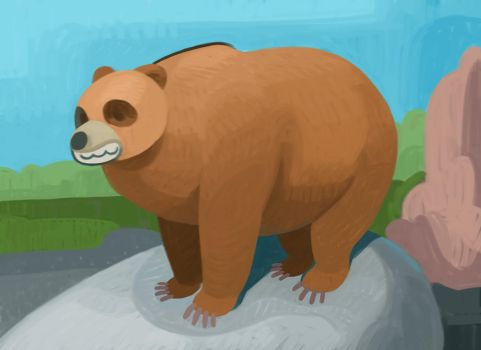 Bear by atomicman