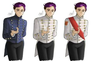 Sanders Sides - Roman in a military jacket by artisticTaurean