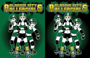 Roller Derby Shirt Design by joshnickerson