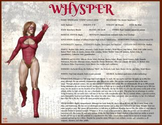 Whysper Character Card 2018 by Nathanomir