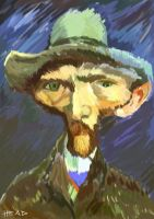 Vincent Van Gogh by manohead