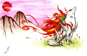 Okami by MetalSlime18