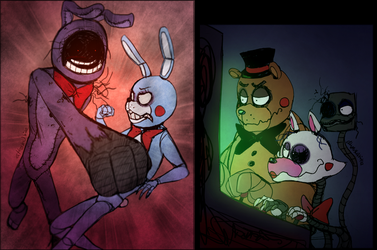 FNAF - Heated Combat! by Atlas-White