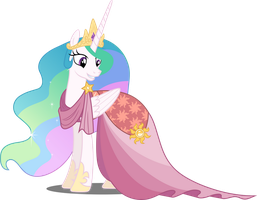 Vector #621 - Princess Celestia #5 by DashieSparkle