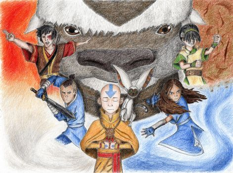 Avatar The Last Airbender by capconsul