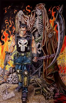 The Punisher Colored by joraz007