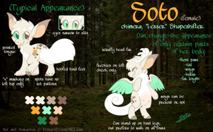 Soto Fursona Reference by Storied