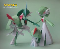 Ralts' Family Portrait