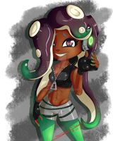 Marina Splatoon 2 by InnSomnio