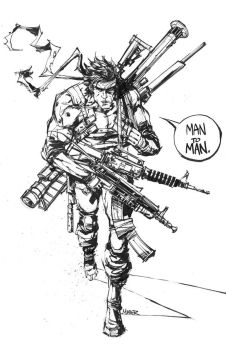 Solid Snake Arsenal by aaronminier