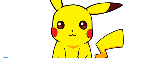 How to draw Pikachu by Cheila