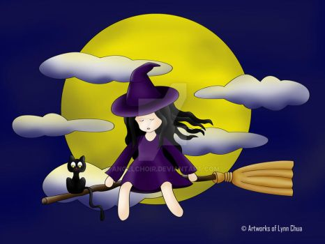 Lil Witch by angelchoir