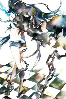 Vocaloid BLACK ROCK SHOOTER by muttiy