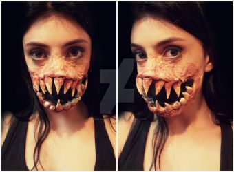 Monster Makeup by CamilaCostaArt