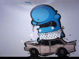 POLICIJA by KIWIE-FAT-MONSTER