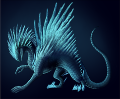 Ice Dragon by TheSameAsOther