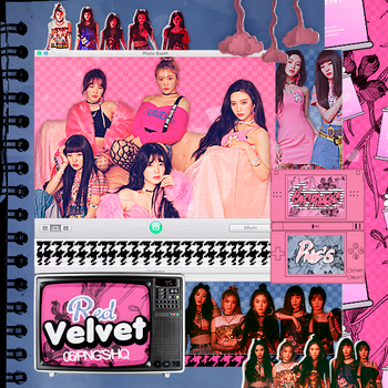 429|Red velvet|Png pack|#18| by happinesspngs