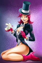 Pin-Up Magician by CrisVector