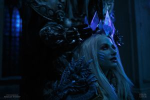 Jaina and Arthas - Crown for the Queen by Narga-Lifestream