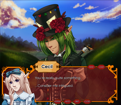 Fake!Otome ScreenShot: Ren and the Hatter by Lady-Zelda-of-Hyrule