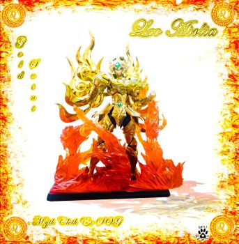 Aiolia Lion Myth Cloth Ex SOG photomanipulation by yoyonasa