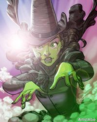 Elphaba by ArtistAbe