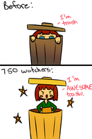 Some Motivation for my 750 watchers! by Jolibe