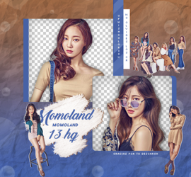 MOMOLAND PNG PACK #2 by Upwishcolorssx