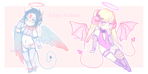 Pastel Demon Adopts (CLOSED) by AQUA-Bunni