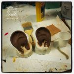 Dwarf Ears - Costume Prosthetic - WIP by mbielaczyc