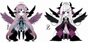 dark angels adoptables CLOSED by AS-Adoptables