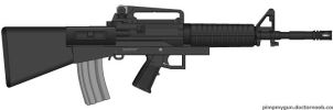 Bullpup M-4A1 by GeneralTate