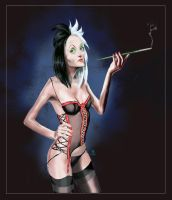 Disney Villains - Cruella by Lcslayer