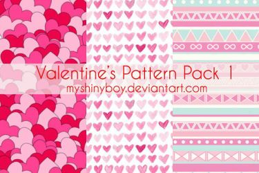 Valentine's Day Pattern Pack 2 by MyShinyBoy