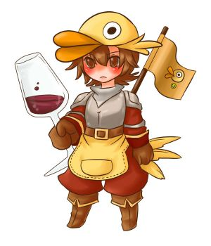 Duck Knight by Hideyo