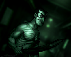 Outlast- Mad doctor- Medic by Nara-chann