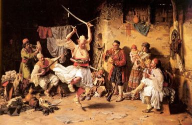 The Albanian Dance In 1793 by eduartinehistorise