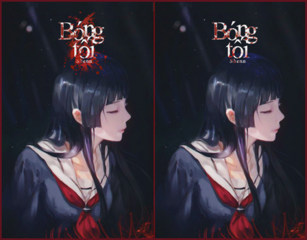 [Bookcover #263] Bong toi by Rukychi