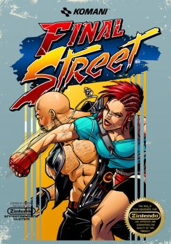 Final Street mock nes cover by BrianAtkins