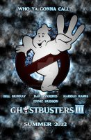 Ghostbusters 3 Poster by Arthzull
