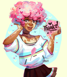Thank you! by GDBee