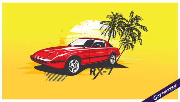 classic rx-7 by grazrootz