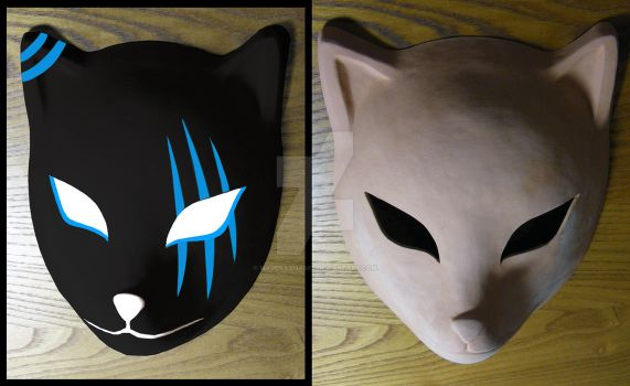 custom Itachi's ANBU mask (WIP) | COMMISSION by MajorasMasks